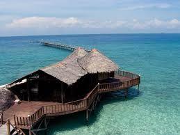 Pantai bagus - bandar lampung - indonesia