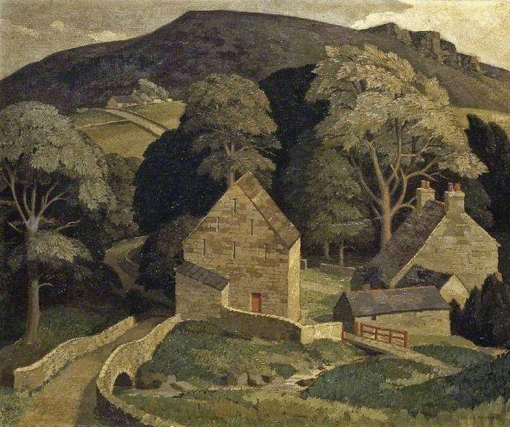 "George Mackley (1900-1983) - ""Brackie's"" Burn, Northumberland"