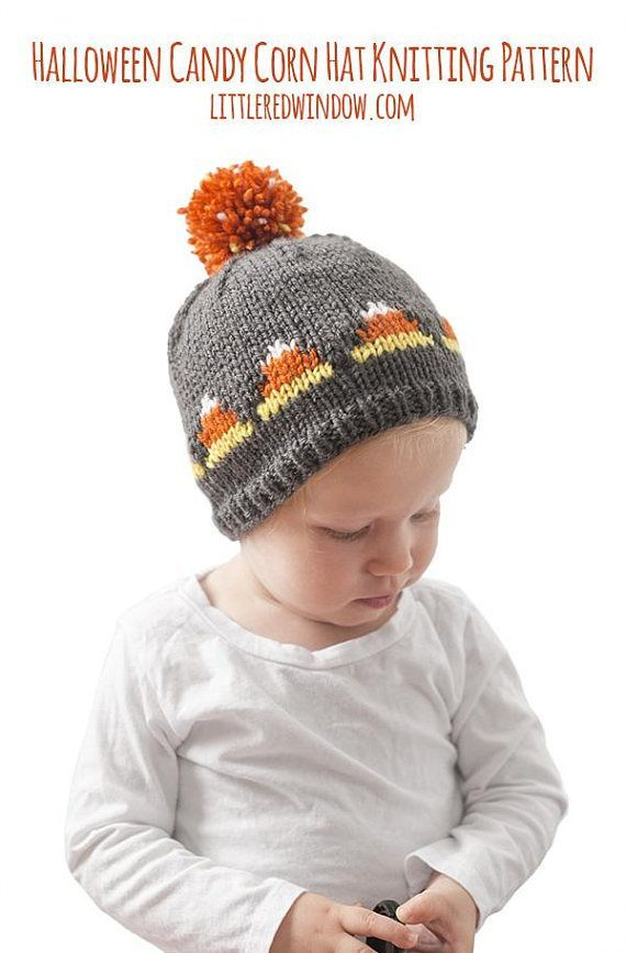 Baby Candy Corn Hat Knitting Pattern Candy Corn Outfit 1st Halloween Outfit Halloween Hat Ideas Newborn Halloween Fair Isle Pattern With Images Hat Knitting Patterns Knitting Patterns Halloween Knitting Patterns