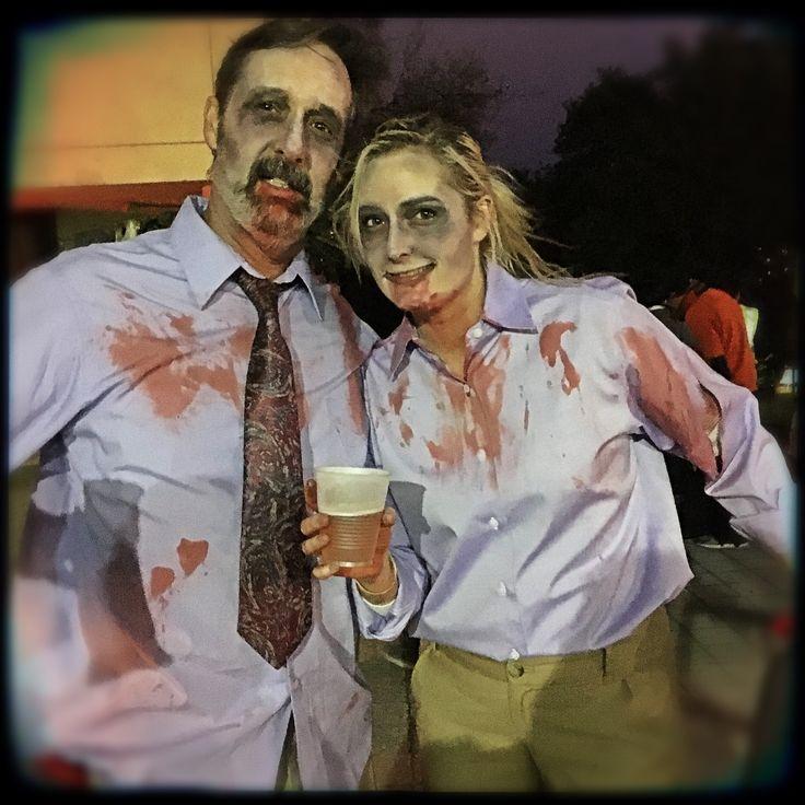 #ShaunOfTheDeadRun + screening. Over 300 zombie enthusiasts crawled down Congress for run, food, drinks & movie screening @paramountaustin