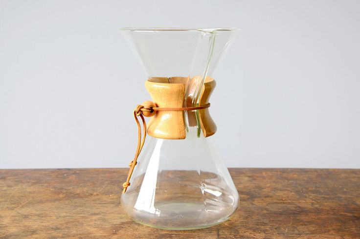 Chemex Coffee Maker Objects Pinterest Chemex coffee maker, Coffee and Vintage