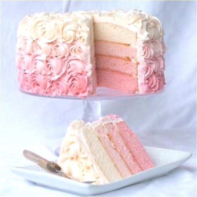 Gorgeous rose cake!