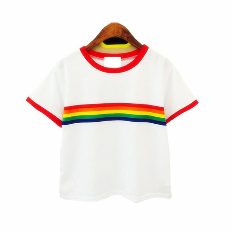 Rainbow Stripe Woman T-Shirt