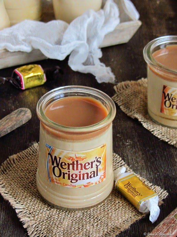 Imagen: lifestyle.sapo.pt   Necesitamos para siete yogures   900 ml de leche semidesnatada  200 gramos de caramelos Werther's Original To...