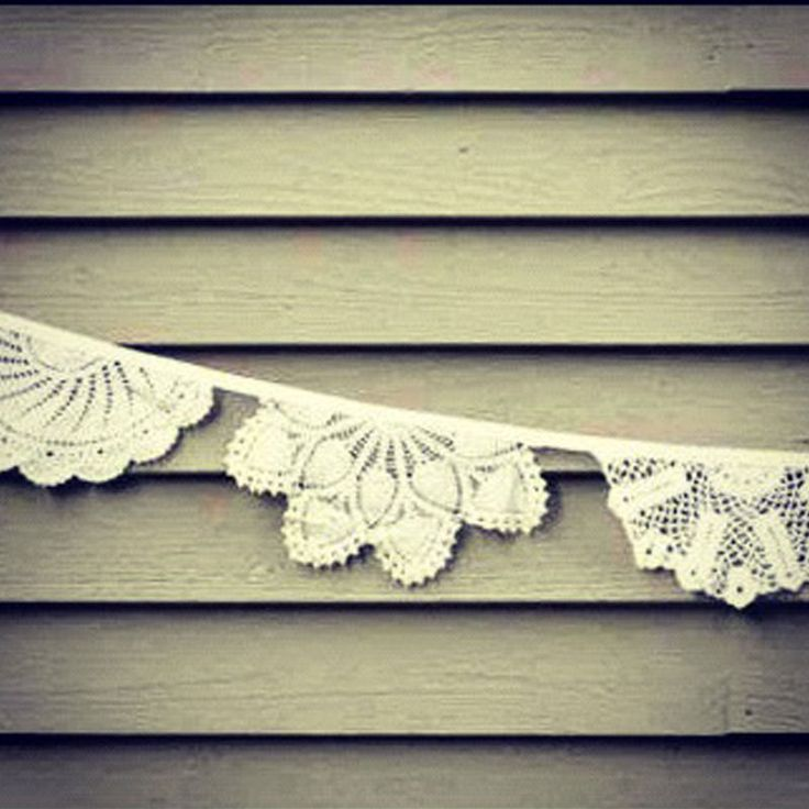 Want something alternative to standard bunting? Try our doily bunting made from beautiful recycled crochet and cotton doilies we have collected over time. In whites, creams and off whites the creation of the bunting is highly considered and made by hand to allow a stunning end product. Made in 10 meter lengths it is hired out for £15 per length.