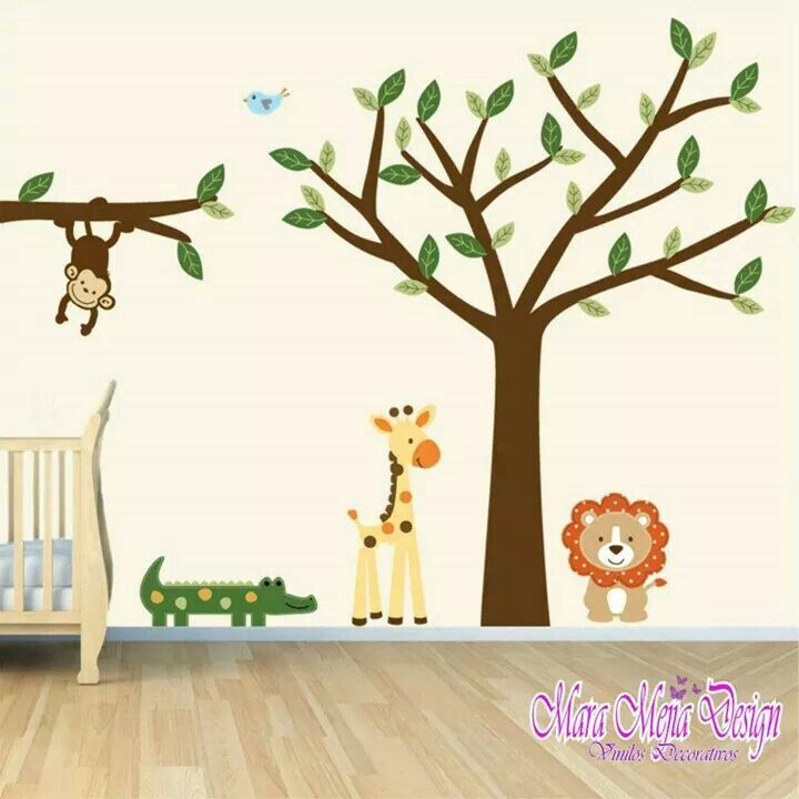 For Babys · Baby Room Wall DecalsBaby Room DecorTree Wall DecalsWall  DecorWall MuralsBaby Boy RoomsNursery ... Part 70