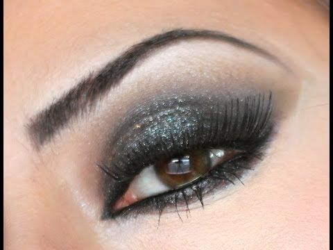 Check this makeup video out -- Shimmering Black Smokey Eyes - Holiday Party Makeup 2012 - MakeupByLeeLee (Re-upload) on MakeupBee