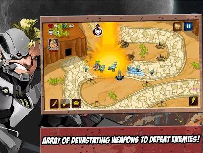 Aliens Invasion TD Heroes- screenshot thumbnail