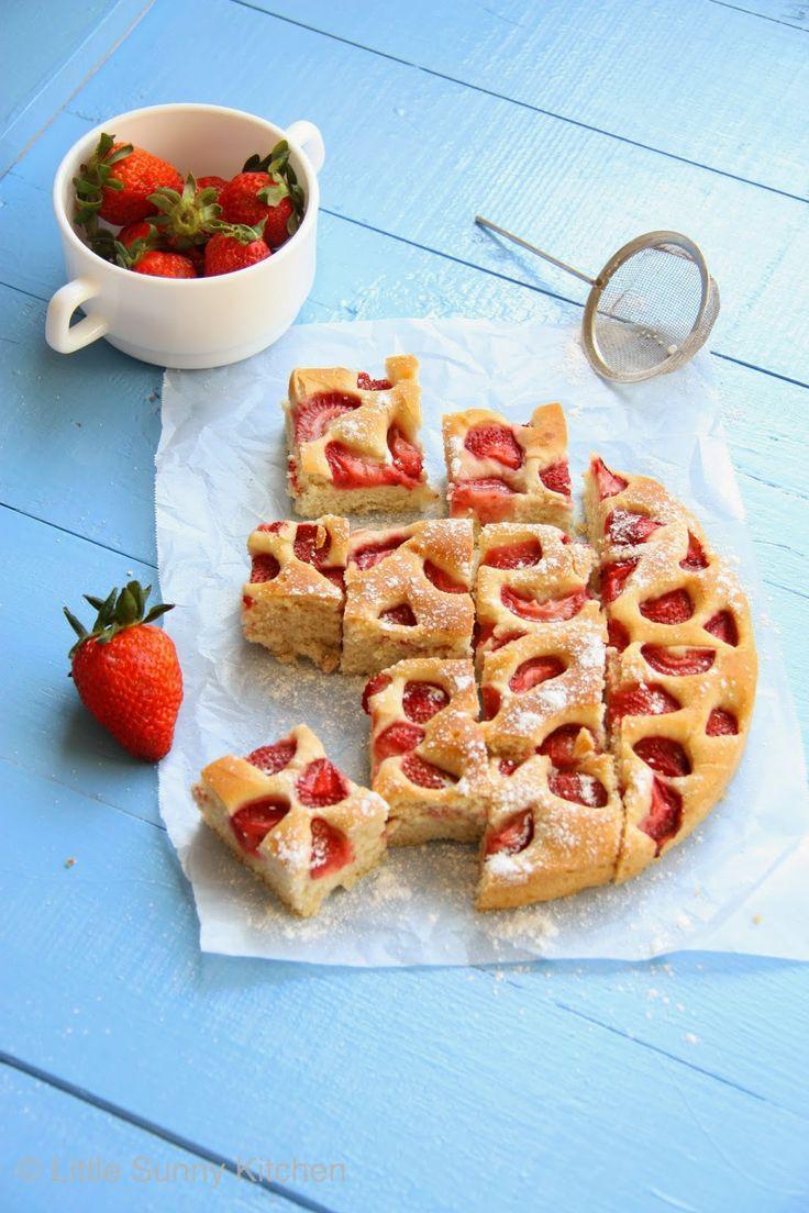 Strawberry Foccacia Bread
