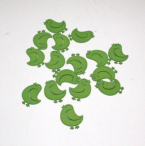 Fugle grønne – 16 stk