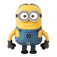 Shape Minion / Despicable Me Pull-Along Balloon $49.95 (filled with Helium)