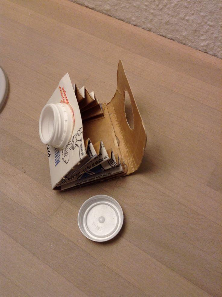 En pung ud af en mælke Katongo