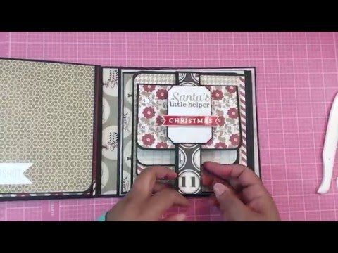 Part 4 - 8 x 8 mini album - Hey guys!!! Here is the re-creation of the Christmas Mini I made for a friend. Here is the original video: https://www.youtube.com/watch?v=2FAf32FdNPI Here i...