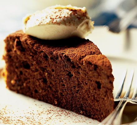 Seriously rich chocolate cake | BBC Good Food - lol not a paleo recipe at all but it is gluten free and a healtheir version of what I would have had otherwise!