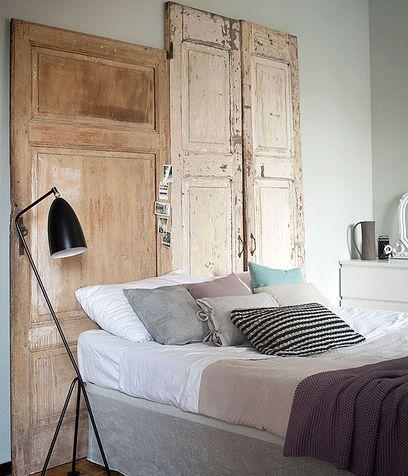 Oltre 1000 idee su porte della camera da letto su - Riciclo mobili vecchi ...