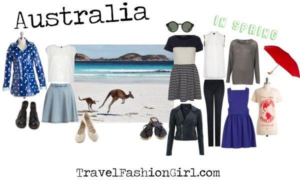 What to Wear when Backpacking Australia SPRING #travel #packing #list via TravelFashionGirl.com
