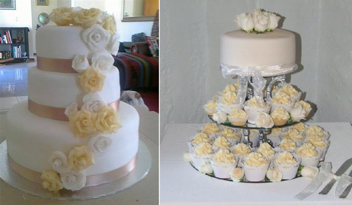 When it comes to your special day, would you go for the more traditional cake or perhaps something a little more unique?