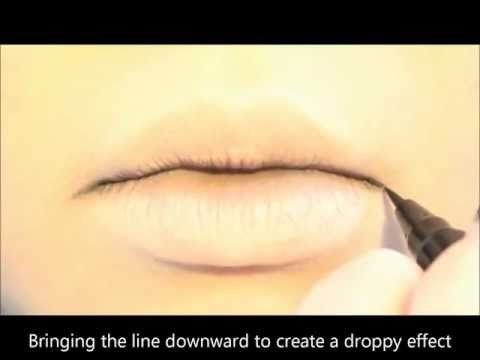 Tutorial : Anime Lips Makeup 2