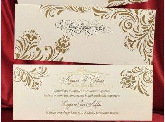 Invitatie de nunta cu flori - cod IC475