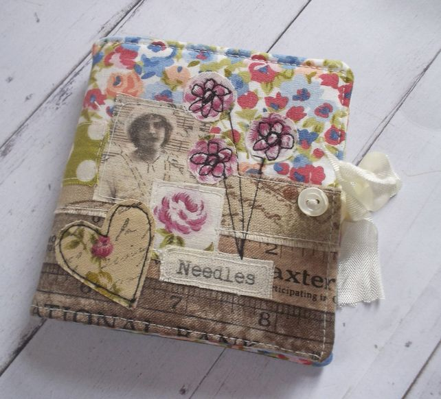 Sewing Needle Case, Handmade, Unique and Gift Boxed £16.00