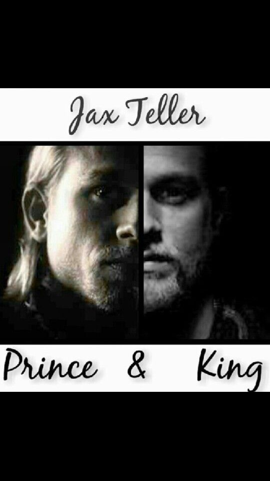 Jax Teller- the prince and the King amazing how he has grown over the seasons!