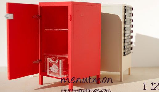 Small Cooler Fridge by MenutmonShop on Etsy  Want for my cottage. :)
