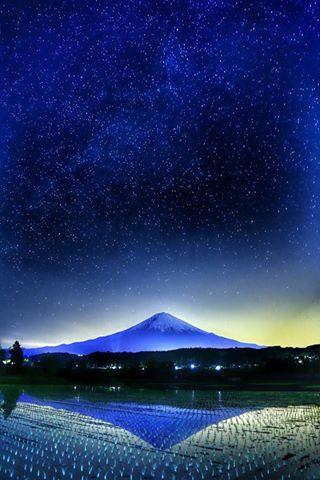 Mt. Fuji, Japan: photo by Makoto Hashimuki