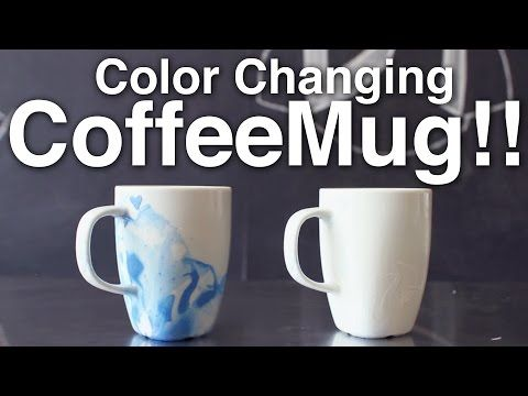 Color Changing Coffee Mug!! - YouTube