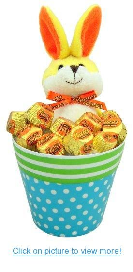 268 best easter baskets images on pinterest easter baskets candy lovers easter gift 12 rapping eat it up yellow plush bunny rabbit in polka dot negle Gallery