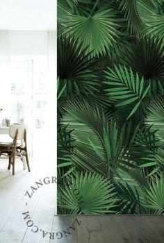 papier peint tropical More