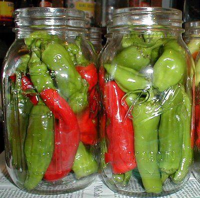 Walnut Spinney: Pickled pepperoncini peppers or hot banana peppers Best walkthrough I've found yet.