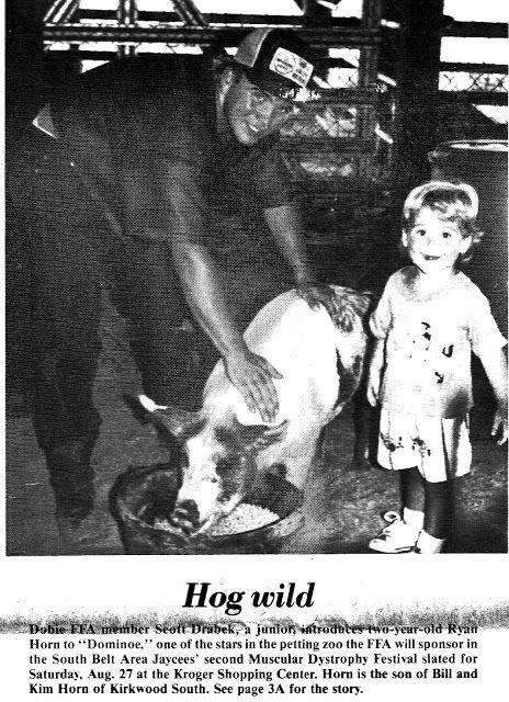South Belt Houston Digital History Archive: Hog Wild Jaycees 2nd Muscular…