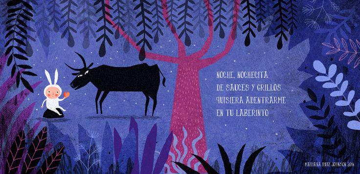 Mariana Ruiz Johnson, argentinian illustrator