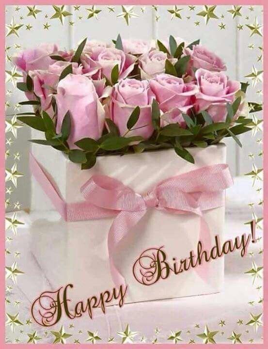 Happy Birthday Janet have a great day enjoy xxxMarie