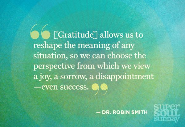 Food for Thought: 12 Bytes from Dr. Robin Smith - @OWNTV #supersoulsunday