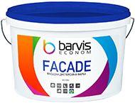 Фасадная дисперсионная краска для наружных и внутренних работ Barvis Facade Econom