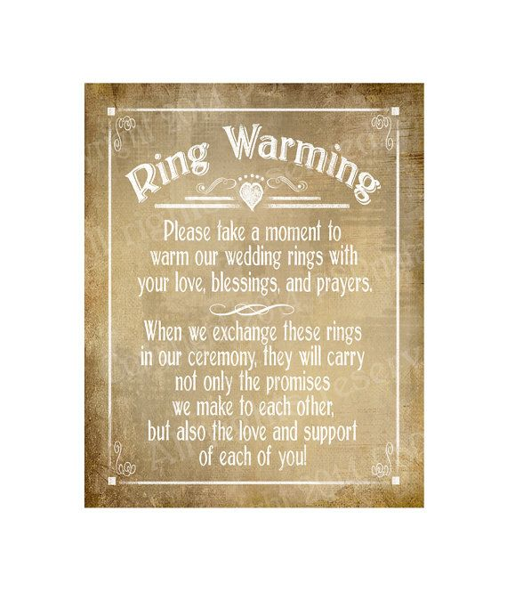 Ring Warming Printable Wedding sign - instant #weddings #decoration @EtsyMktgTool http://etsy.me/2g1wU4V