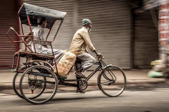 Delhi Rikshawala Life