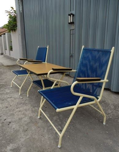 more rubber chairs