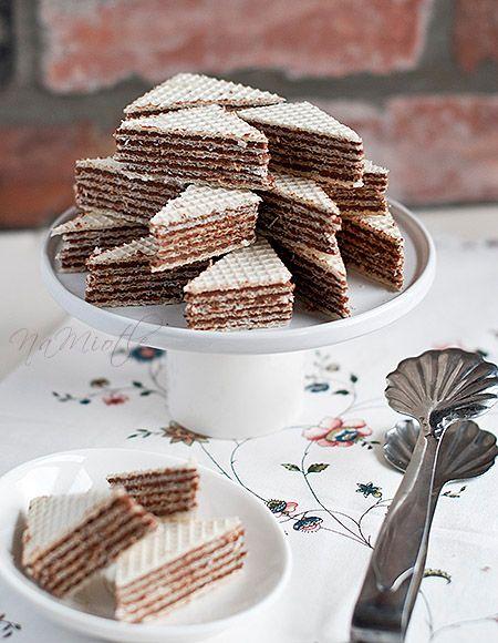 Masa do przekładania wafli – torciki (prawie) Pischingera :)