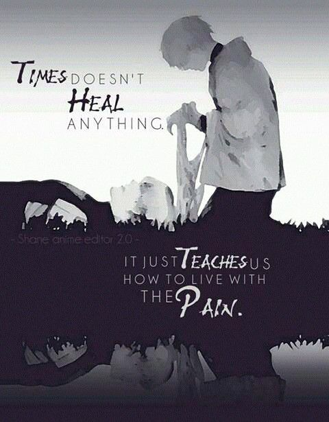 Time doesn't heal anything | Quotes | Ken Kaneki | Tokyo Ghoul ▪