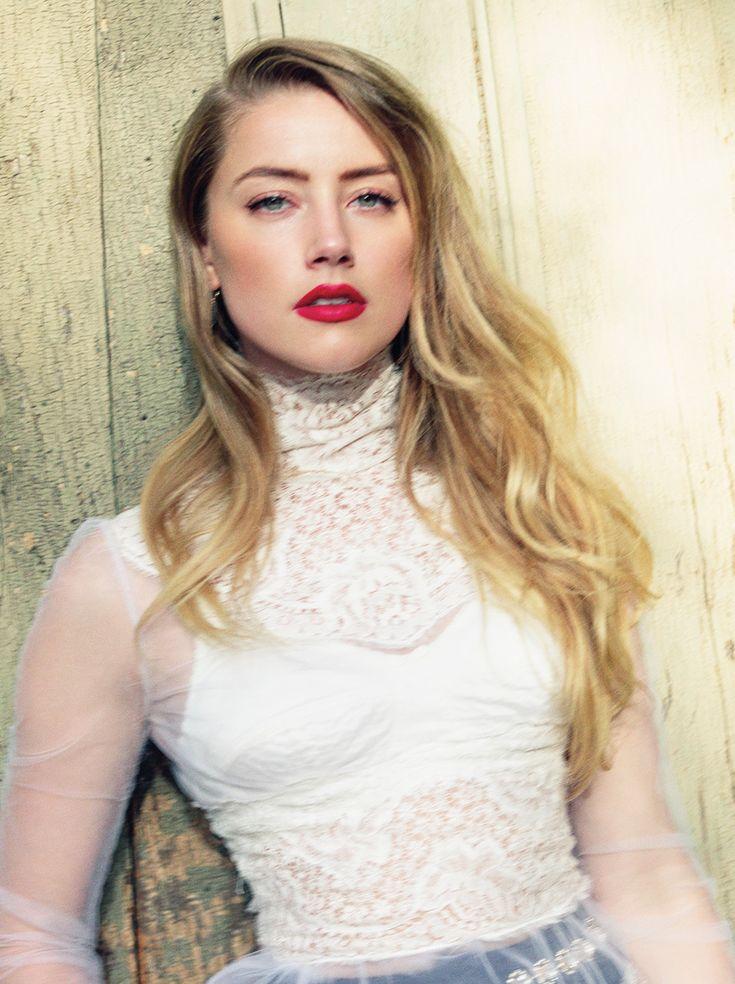 Amber Heard for C Magazine November 2015 - Dolce & Gabbana