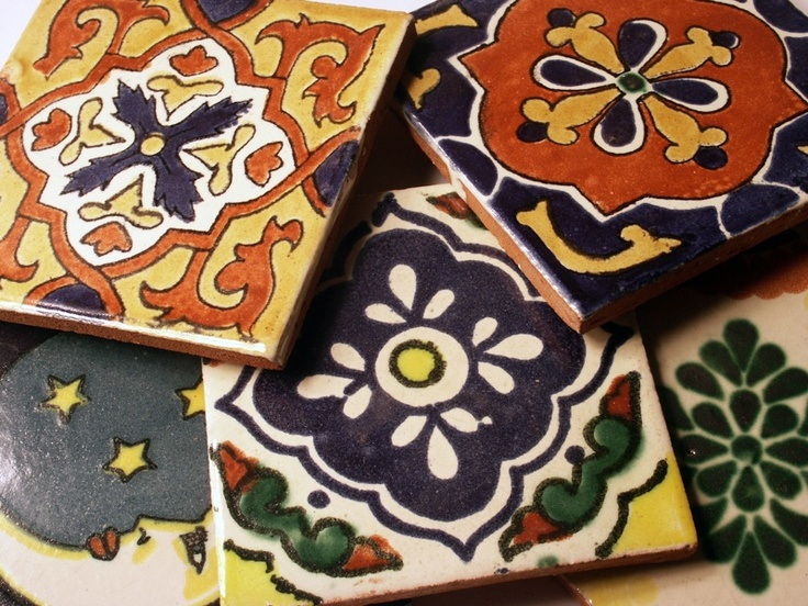 moroccan tiles, would make great coasters