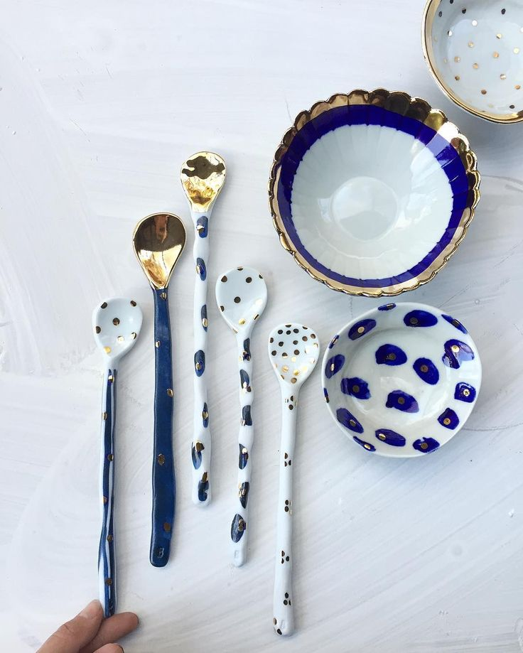 """""""Big spoons and flower bowls for Sydney @finders_keepers"""""""