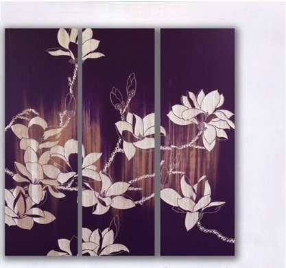 Magnolia Wood Carved Panel