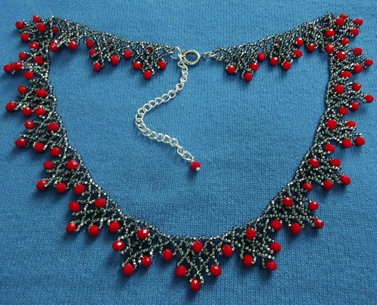 Free pattern for necklace Sorbo (Beads Magic)