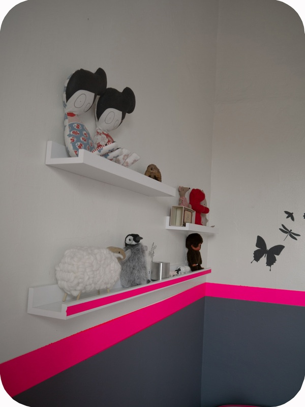 Washi Tape Kids Room / Cuarto de Niños  (ventas@washitapemexico.com for the tapes)