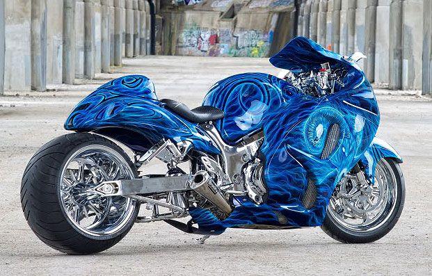 Motorcycles - Custom Hayabusa