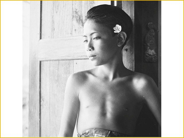Tropenmuseum, young Balinese by P. (Paul) Spies