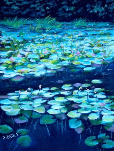"""Night Lilies"" by Jill Bates"